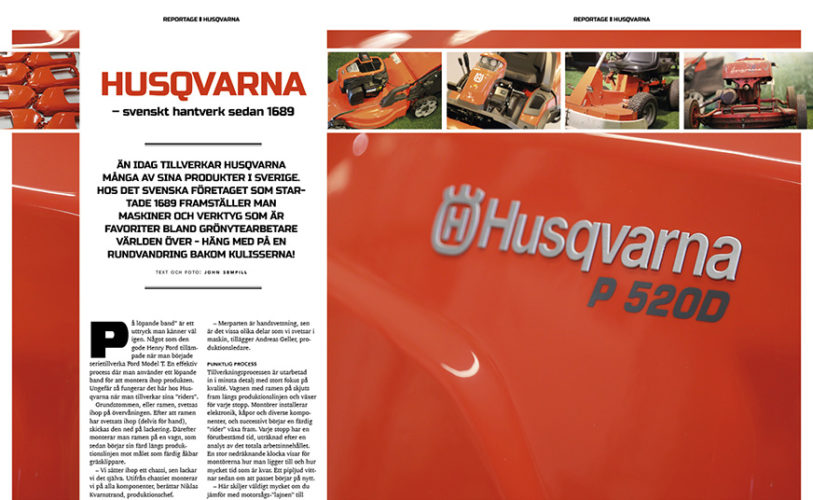 Ingang Husqvarna webb 872