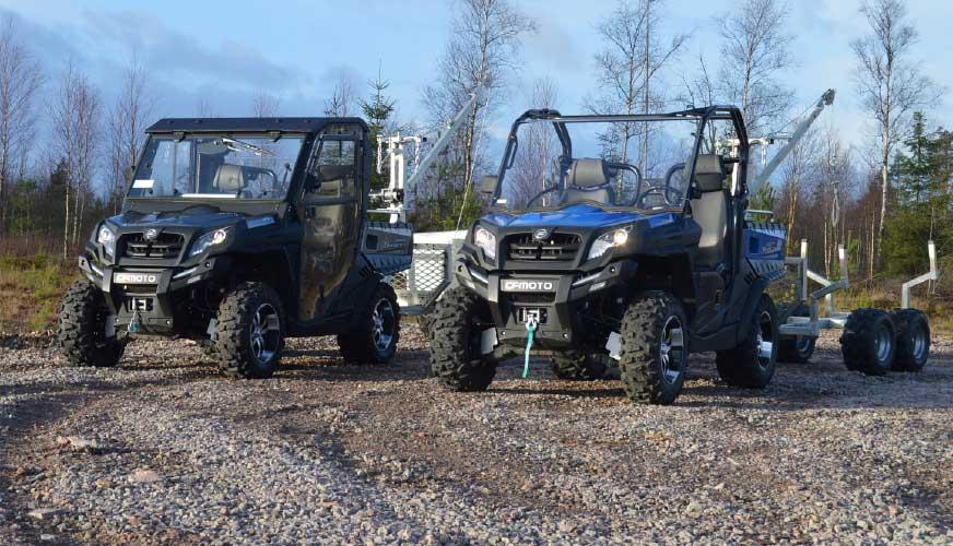 Översikt UTV – Utility terrain vehicles