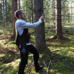 Skogsplanering med mobiltelefonen